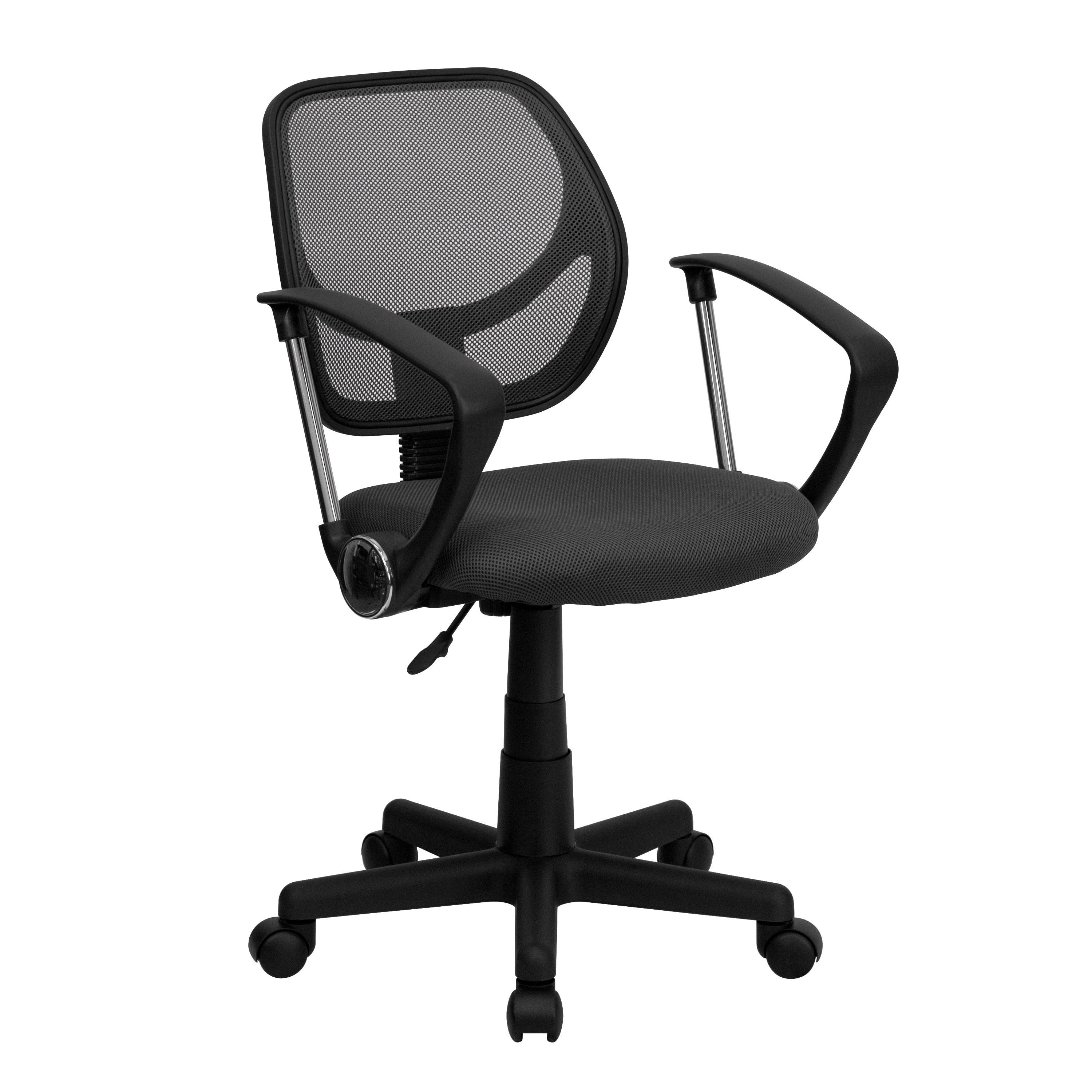 Ventilated Mesh Swivel fice Chair With Pneumatic Seat Height