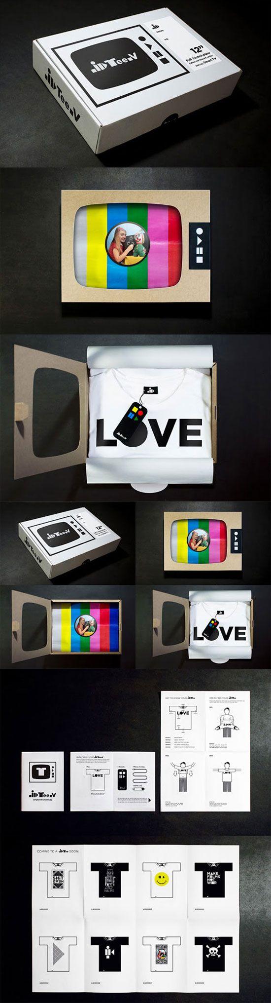 43 Creative T Shirt Packaging Designs|iBrandStudio