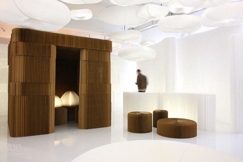 Superstudio Mobili ~ Modular system by molo design exhibition at face to superstudio