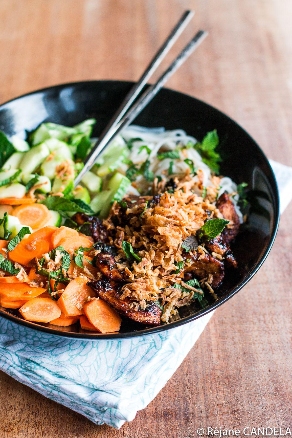Bo Bun Allégé   Plat vietnamien, Recette asiatique, Recettes de cuisine