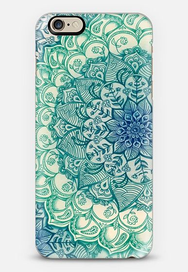 iPhone 11 Pro Case Emerald Doodle by Micklyn Le Feuvre