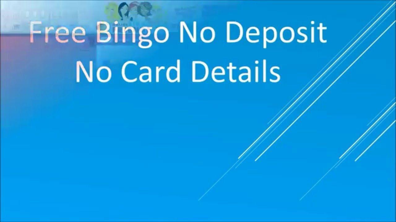 Best free bingo sites no deposit