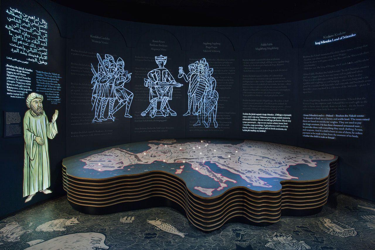 eb162a7a9370d7 Nizio Design International, core exhibition of the Polin Museum, Warsaw.  Photo M.Starowieyska, D.Golik / Muzeum Historii Żydów Polskich Polin