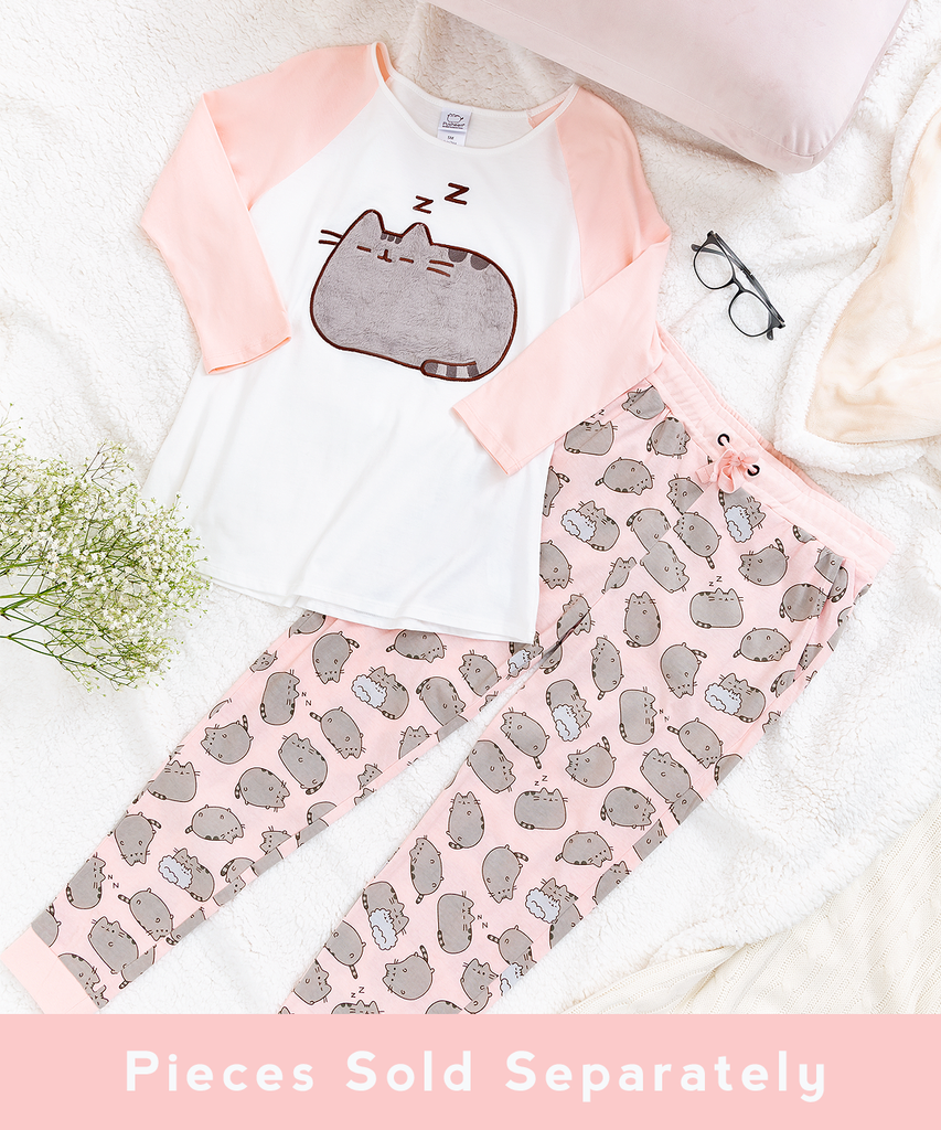8dc9c53c747 Pusheen Pink Pajama Set – Hey Chickadee | clothes+shoes+etc | Pajama ...
