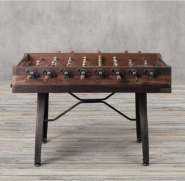 Vintage Industrial Foosball Table