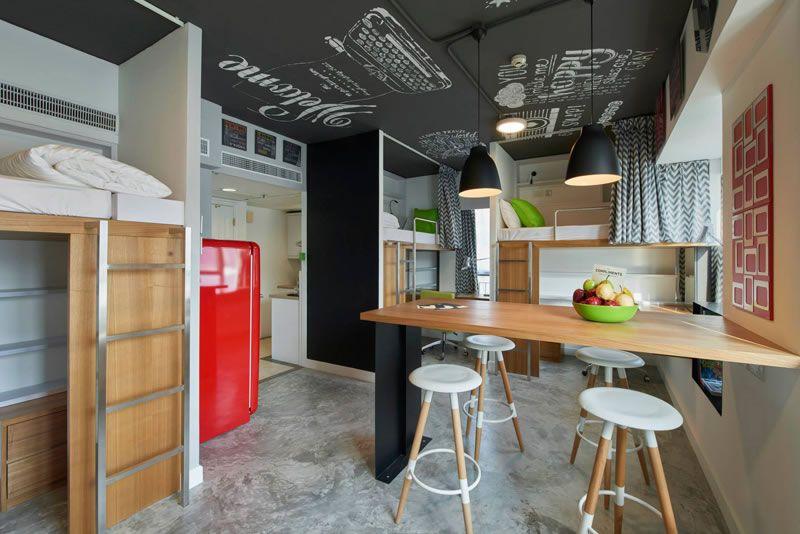 Beautiful Houses Stylish Student Apartments In Hong Kong Casa E - Hong kong small house design