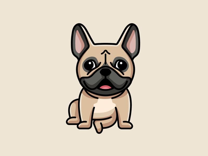 French Bulldogs French Bulldog Cartoon French Bulldog Bulldog Clipart