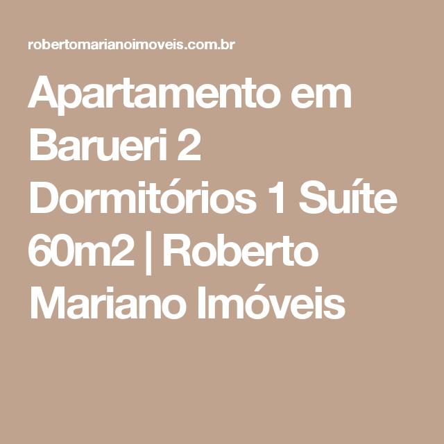 Apartamento em Barueri 2 Dormitórios 1 Suíte 60m2 | Roberto Mariano Imóveis