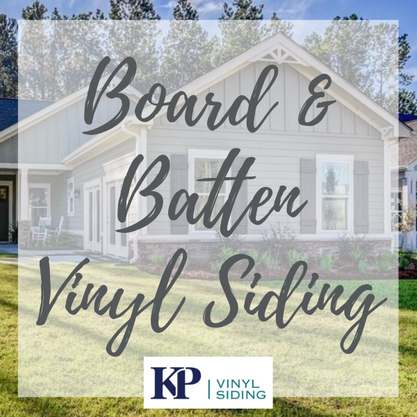 Learn more about KP Vinyl Siding's Board & Batten vinyl siding collection. #boardandbattensiding