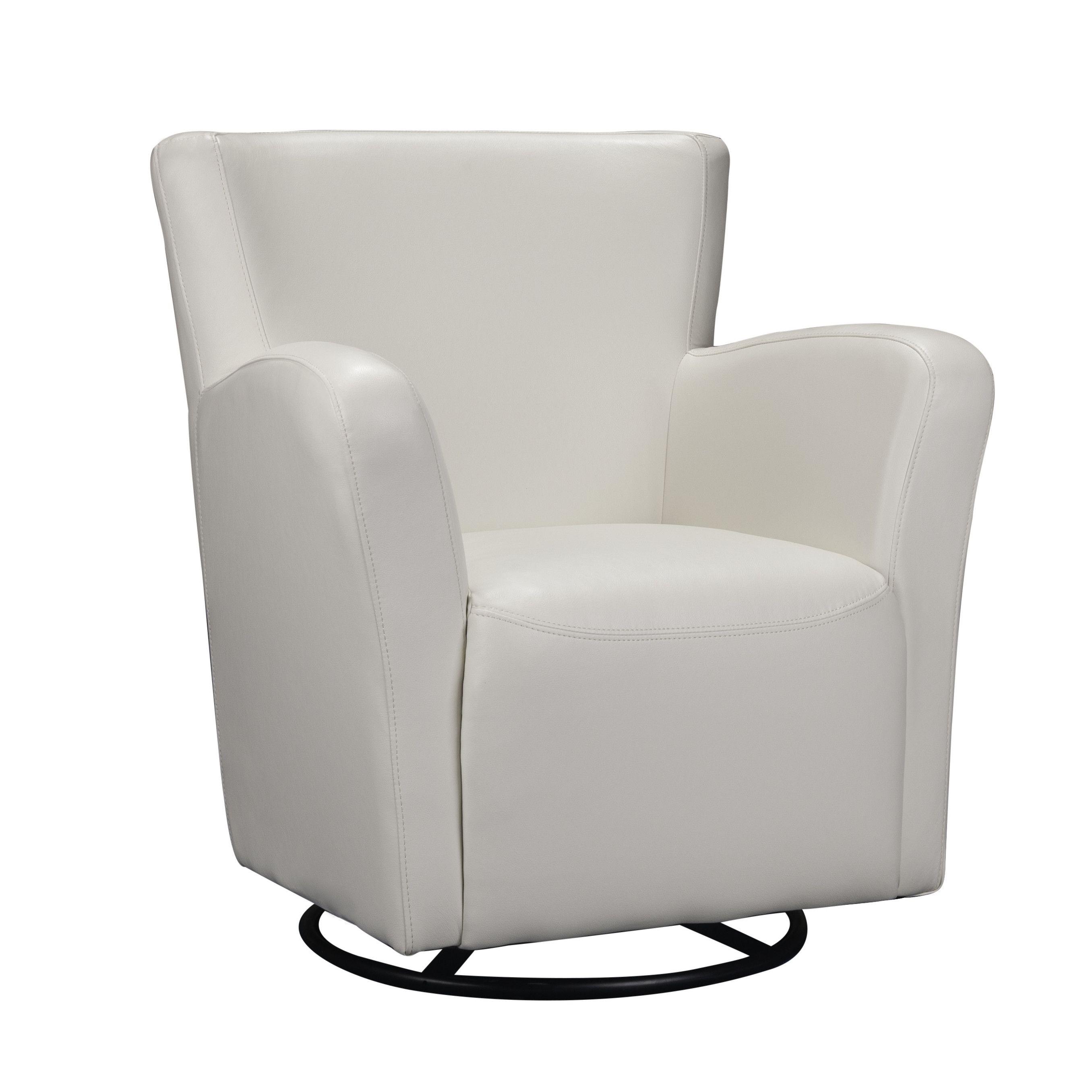Picket house furnishings marilyn swivel arm chair