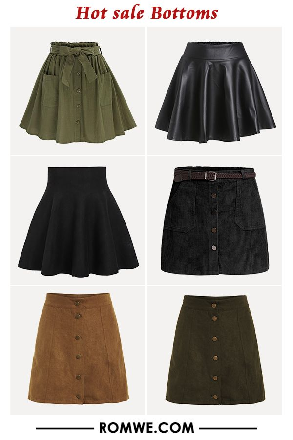 227fe6eb4 hot sale bottoms - skirts from romwe.com | Falda | Ropa para la ...