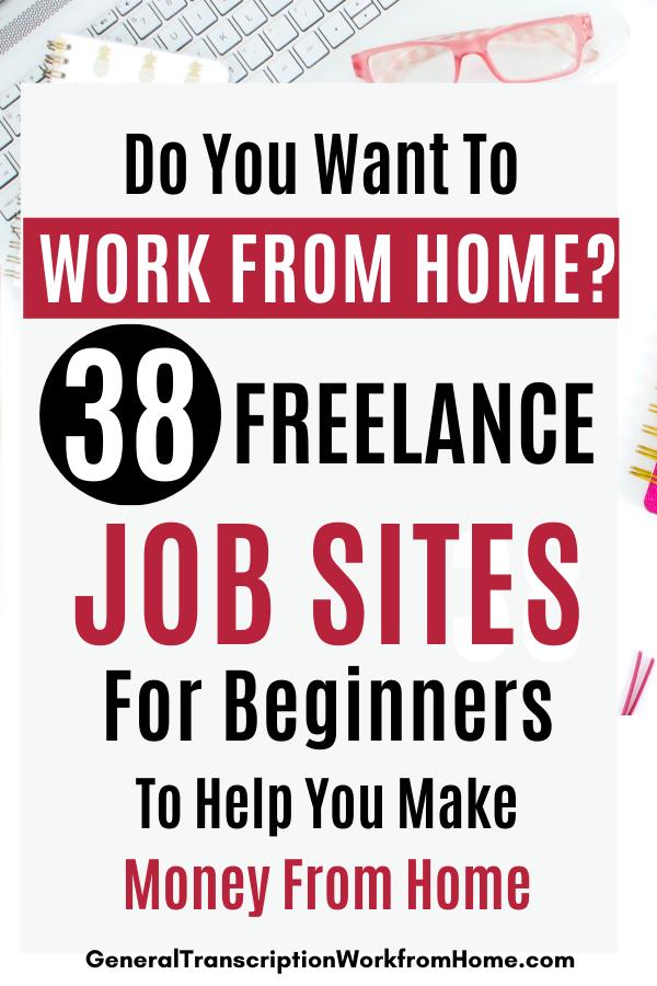 Best Freelance Job Sites For Beginners Work From Home Jobs Online Jobs Side Hustles Freelance Job Sites In 2020 Freelancing Jobs Work From Home Jobs Online Jobs
