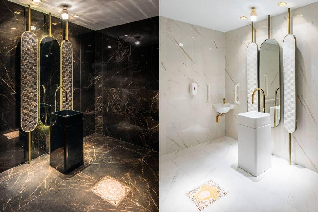 Show de inclusão: conheça os banheiros acessíveis da CASACOR SP | CASACOR