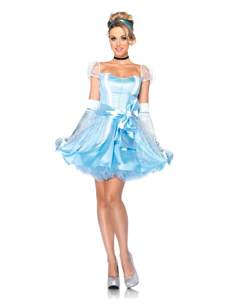 Disney Princess Cinderella Adult Costume at Spirit ...