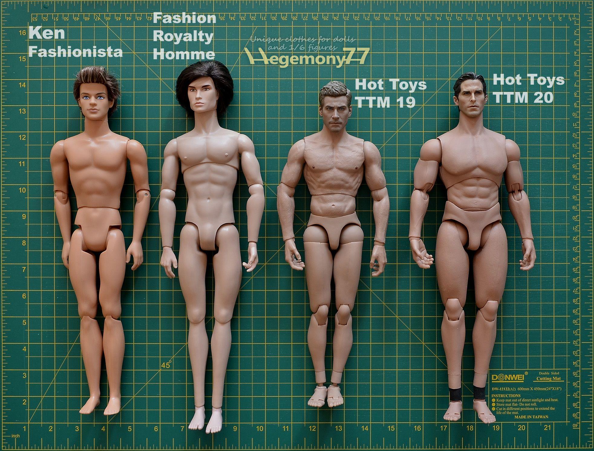 "Hot Toys 1:6 Scale Black Sport Man Action Figure Body 12/""  Without Head Sculpt"