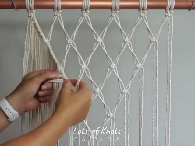 Photo of DIY Macrame Tutorial – Macrame Shelf! – YouTube