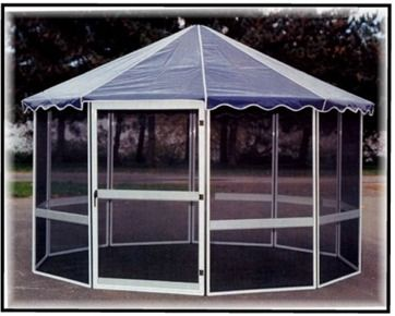Free Standing Screen Room Kits Octagon Screened Patio Rooms
