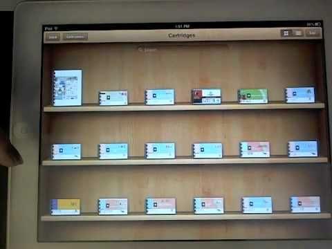 How to put your Cricut cartridge handbooks on your iPad or