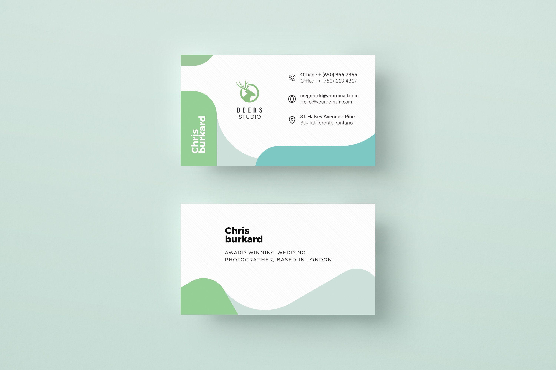 Minimal Corporate Business Card Template Clean Business Card Etsy Professional Business Cards Templates Business Cards Creative Templates Clean Business Card Design