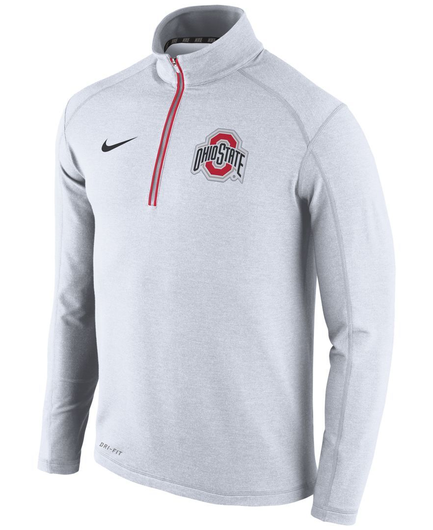 Nike Men's Ohio State Buckeyes Game Day Quarter-Zip