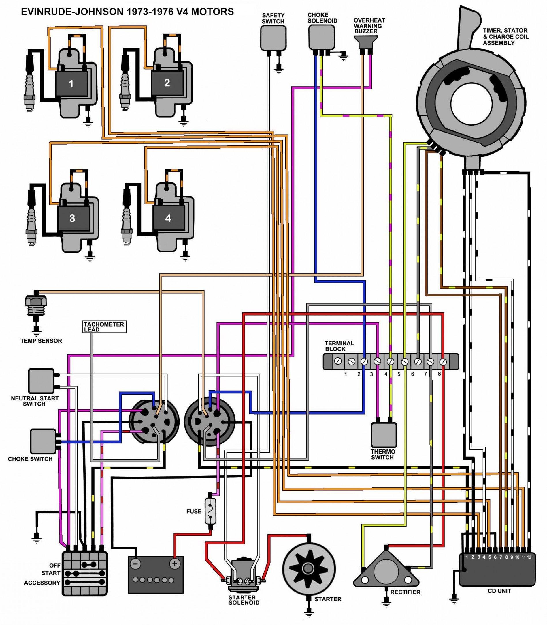 Yamaha Outboard Wiring Diagram Pdf Arac