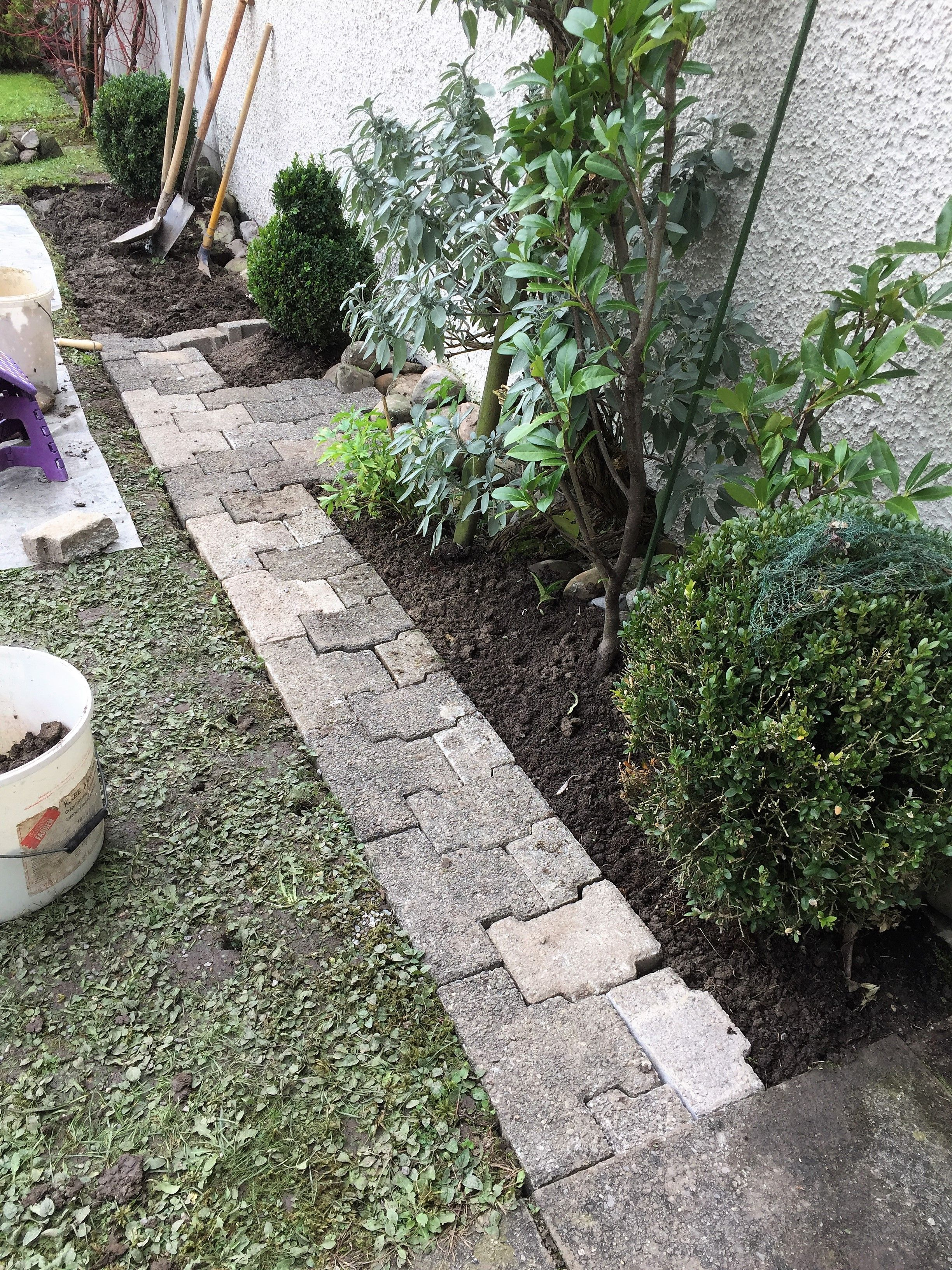 ⚒ gartenweg mit steinplatten anlegen | edgarten