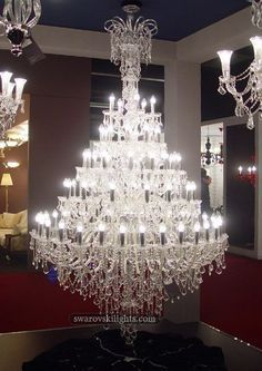 Amazing Chandeliers, different shapes and colors, but all gorgeous!!! #homedecor #designLovers
