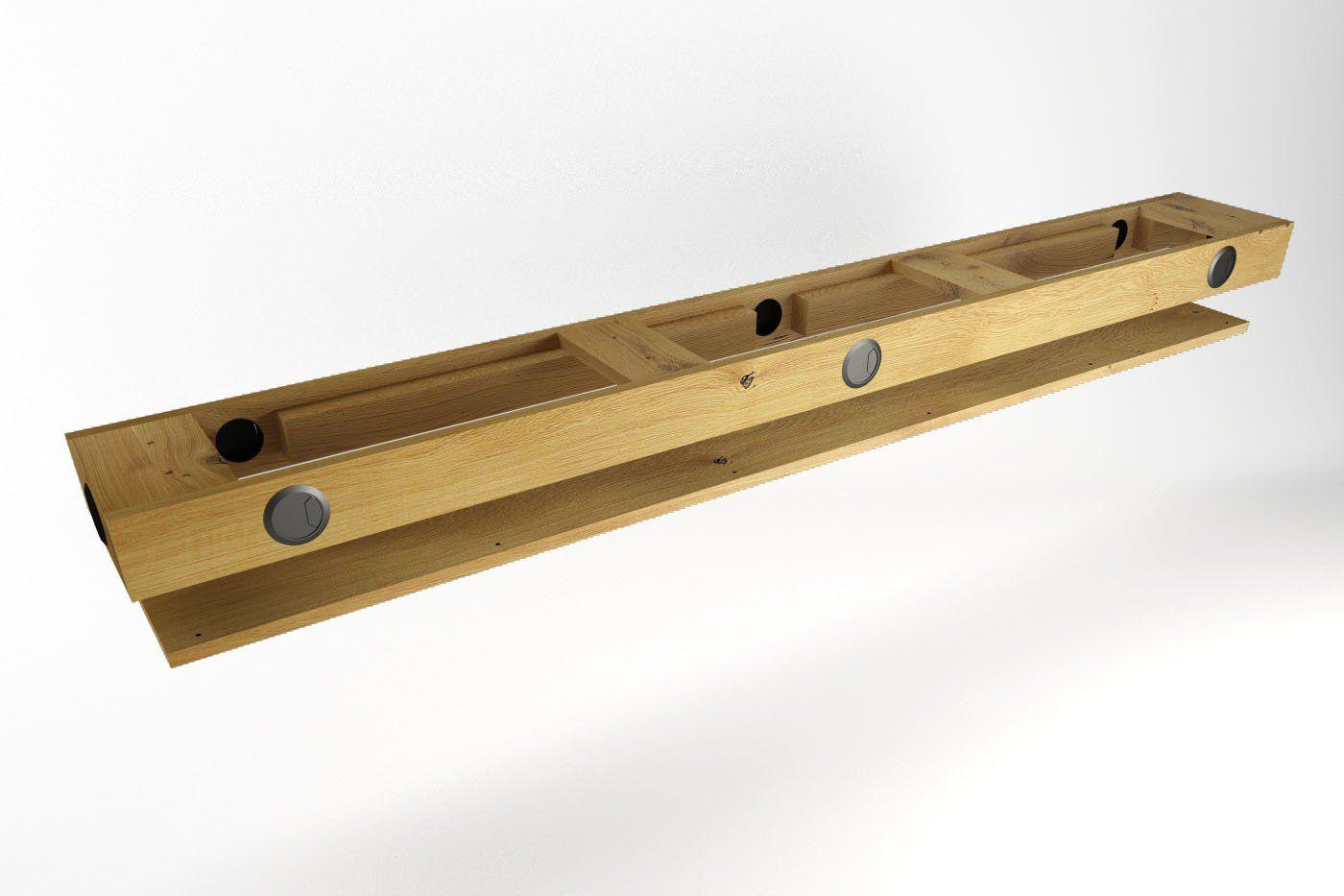 kabelkanal f r schreibtisch nach ma organizar cableado mesa schreibtisch tisch y eiche. Black Bedroom Furniture Sets. Home Design Ideas