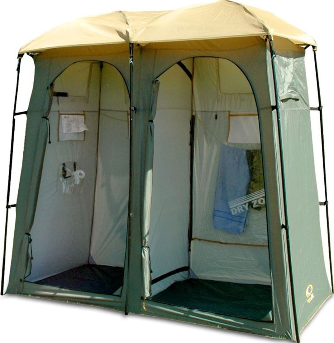 Double Outhouse Toilet Shower Tent In 2020 Shower Tent Tent
