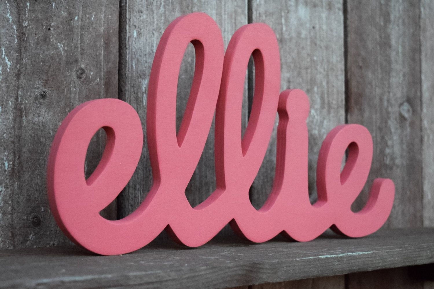 Ellie wooden baby name signs initials personalized gift ellie wooden baby name signs initials personalized gift handmade wood sign negle Gallery