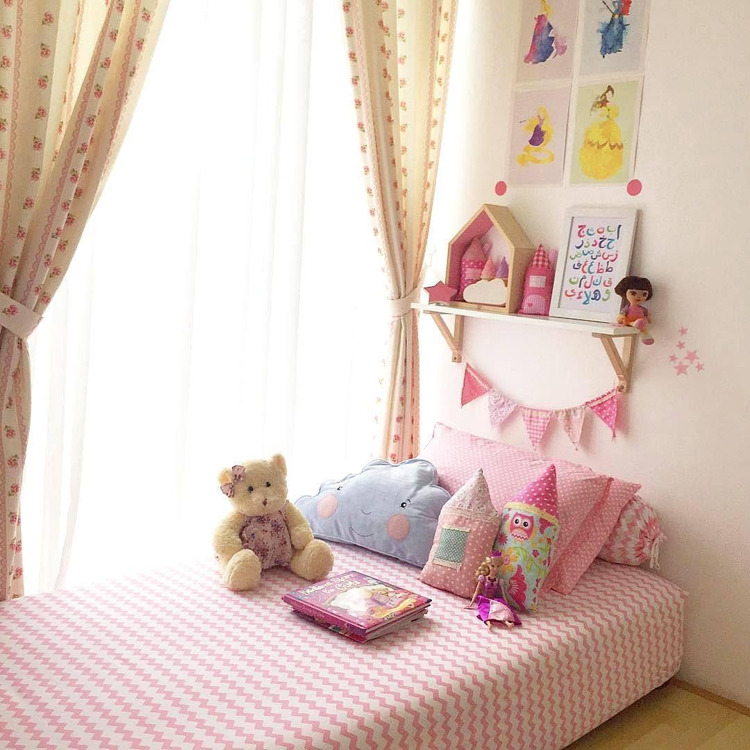 dekorasi dinding kamar anak perempuan cewek masa kini | dekorasi