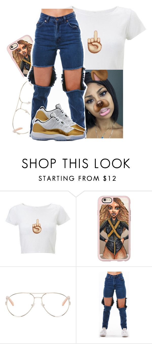 """"""""""" by xtiairax ❤ liked on Polyvore featuring Casetify and Chloé"""