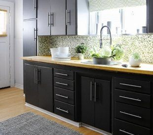 Make over your kitchen for under $100: 10 easy steps to refinish cabinets