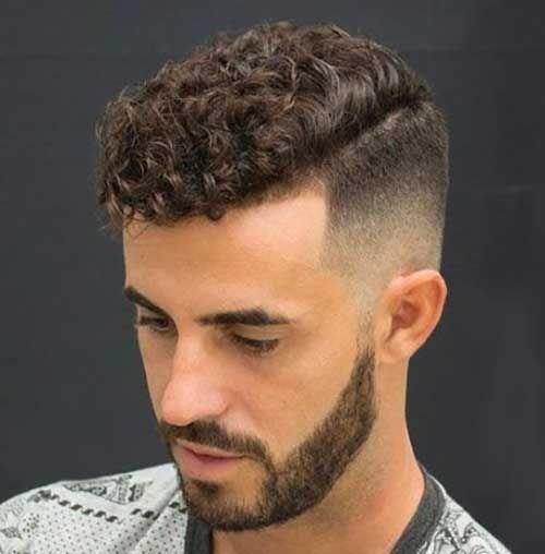 20 coole Frisuren für Männer mit lockigem Haar in 2020