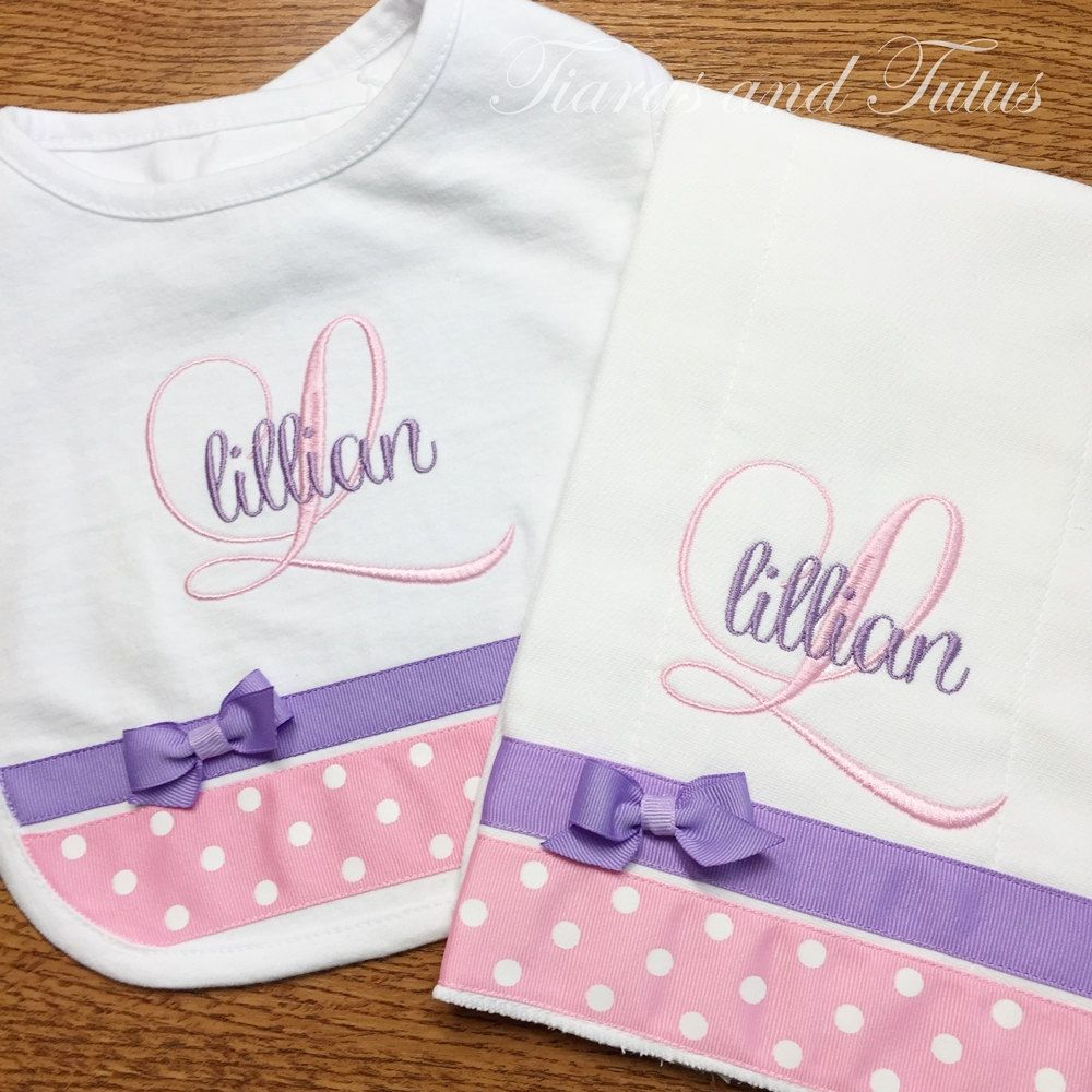 Personalized baby gifts burp cloth and bib baby gifts personalized baby gifts burp cloth and bib baby gifts monogrammed baby gifts monogrammed negle Gallery