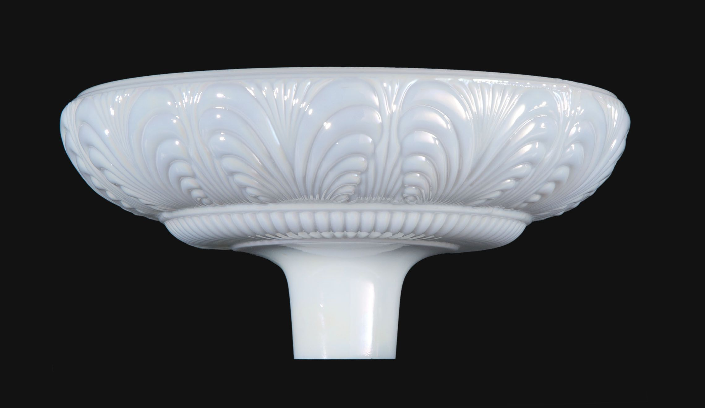 14 1 2 Victorian Style Torchiere Lamp Shade 2 3 4 Inch Fitter
