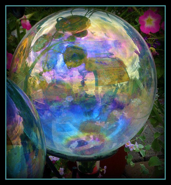 Soap Bubble Gazing Ball