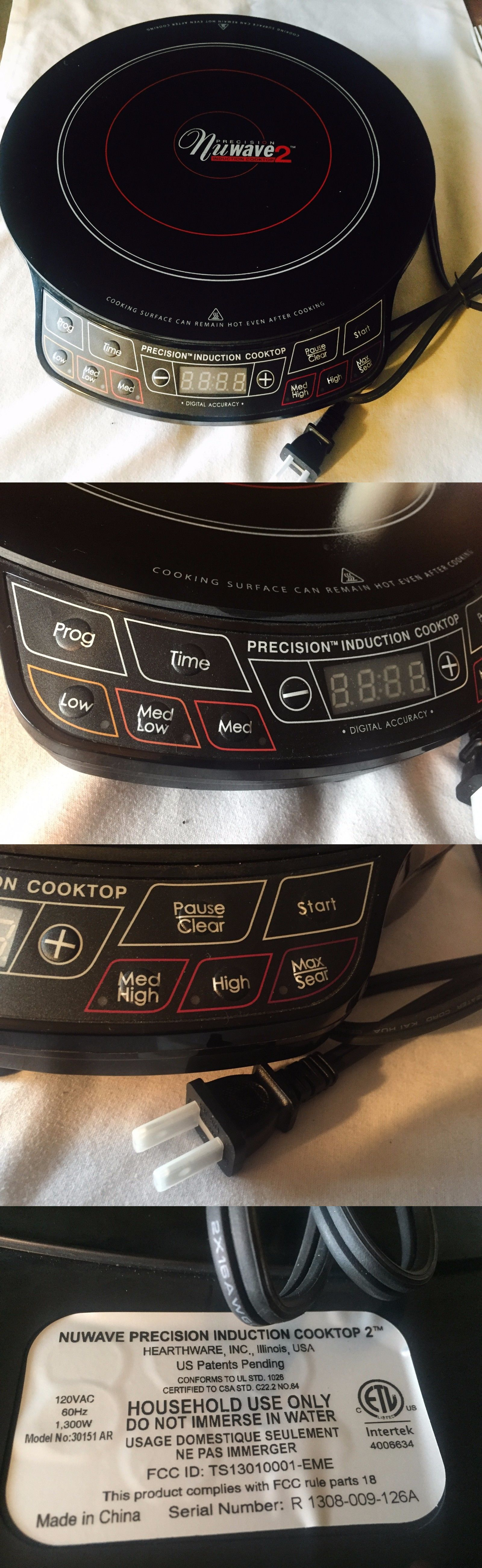 burners and hot plates 177751 precision nuwave 2 induction cooktop