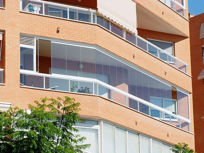 Cristales para terrazas Málaga Cerramientos terrazas y porches - cortinas para terrazas