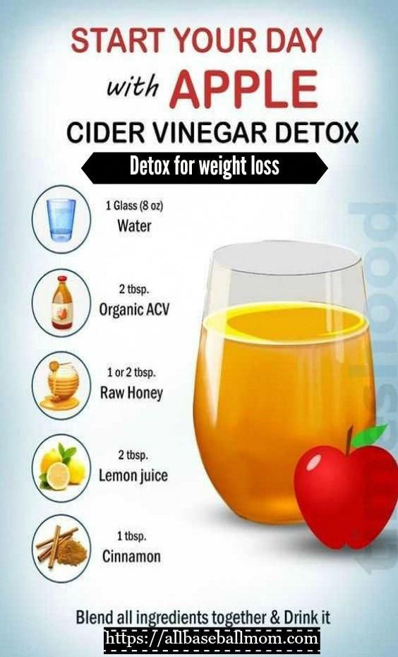 Detox with apple cider vinegar for weight-loss! Click on the image for FREE! 13 proven weight loss c...