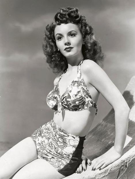 Janet Blair 1940 S Vintage Swimwear Vintage Swimsuits Vintage Bikini