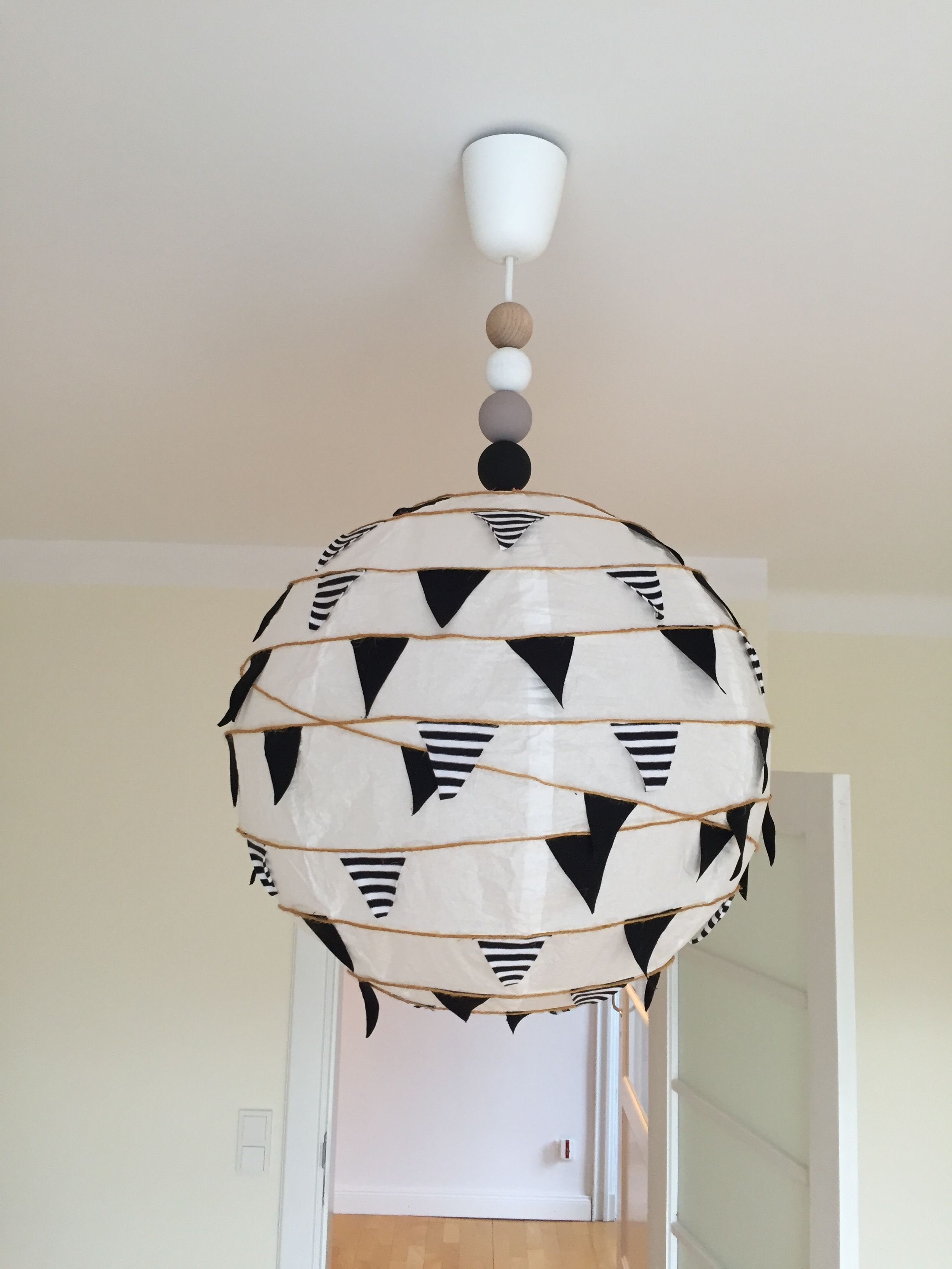 Ikea Hack Kinderzimmer Lampe Diy Papierlampe To Make Pinterest