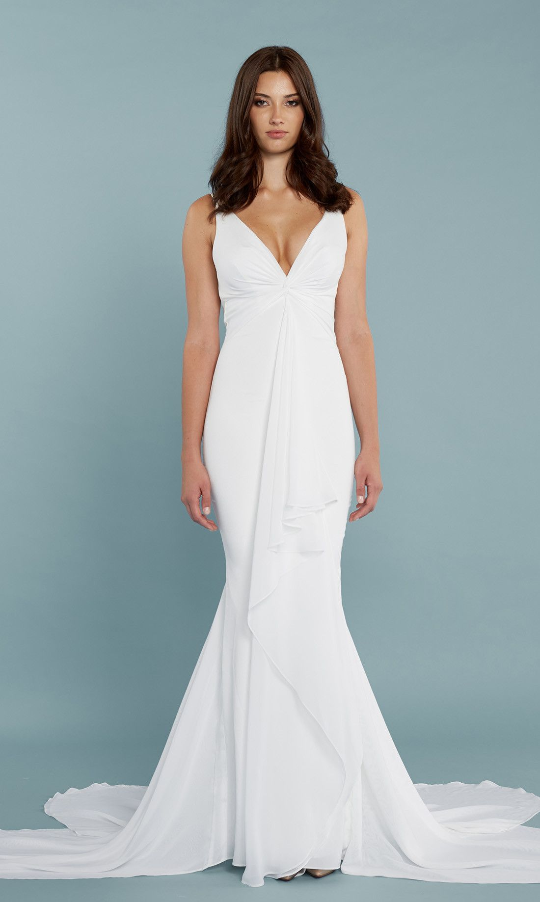 Mykonos Gown Mermaid gown, Wedding gowns lace, Gowns dresses