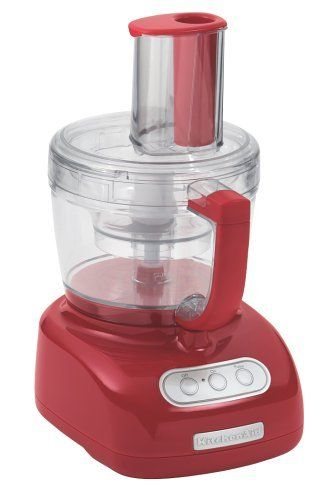 Kitchenaid Kfp750er 700 Watt 12 Cup Food Processor Empire Red By