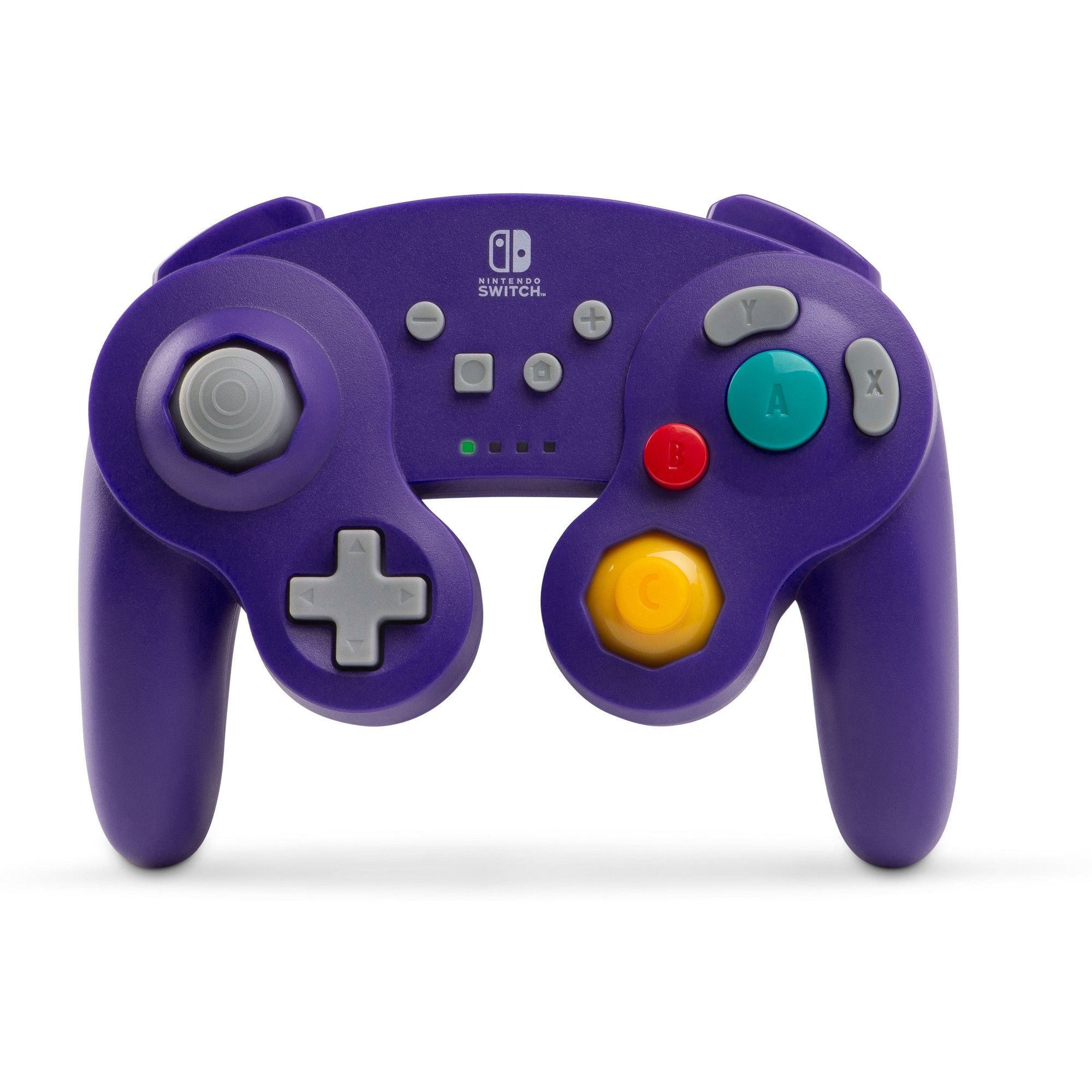 Power A Wireless Controller For Nintendo Gamecube Purple