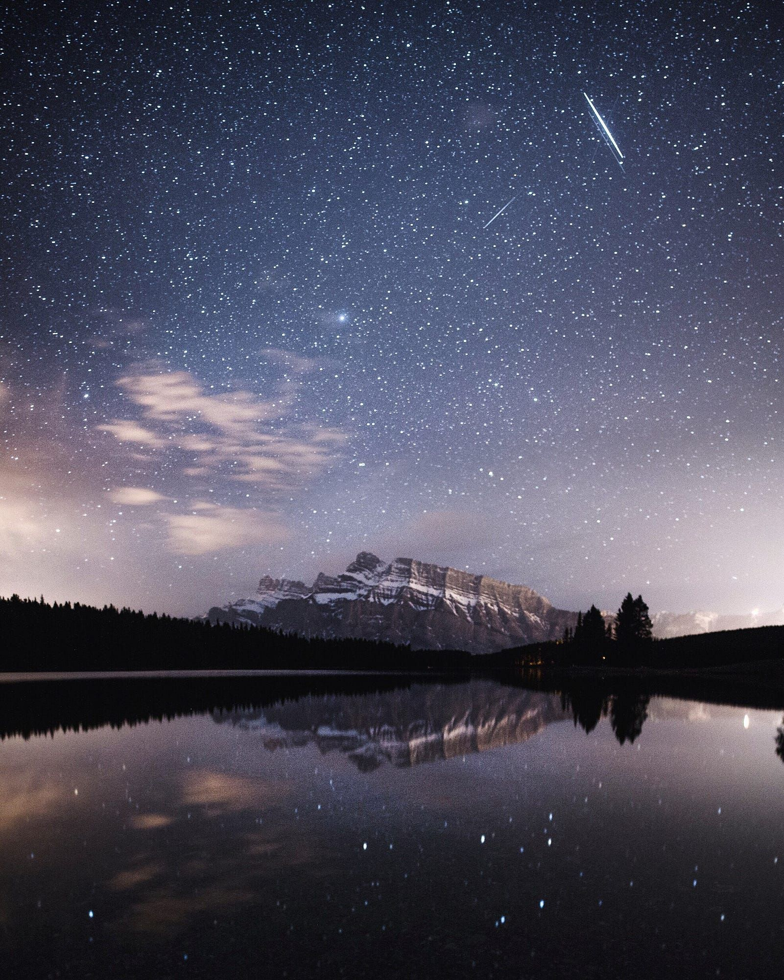 Ночь звезды небо картинки