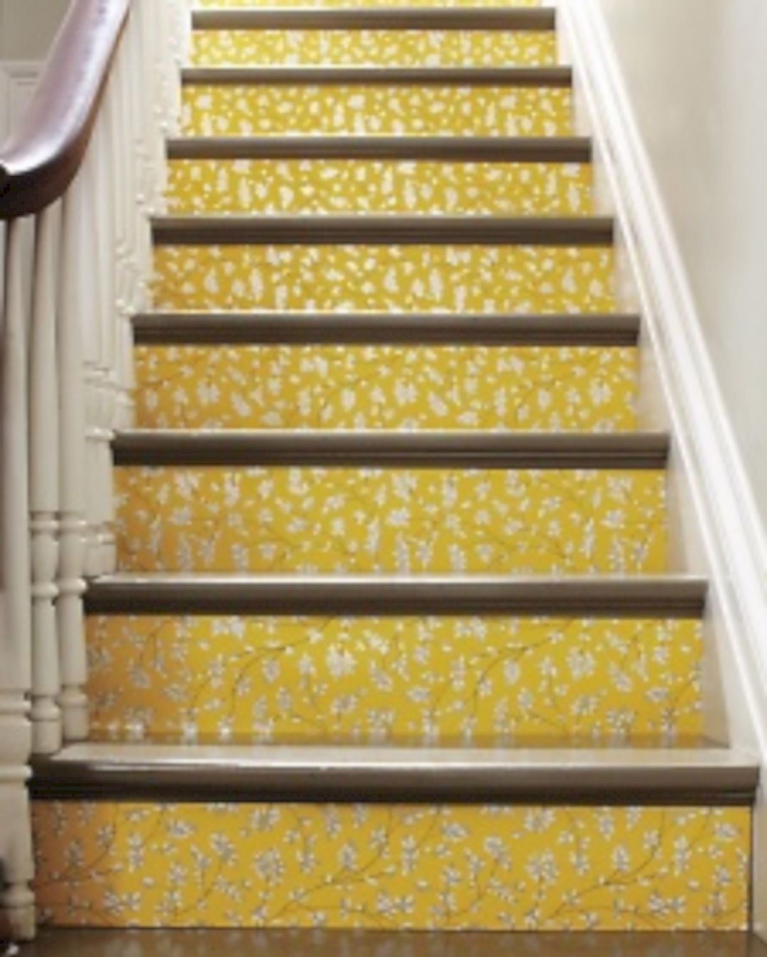 Lamaisondeco 58 Cool Ideas For Decorating Stair Risers Lovely
