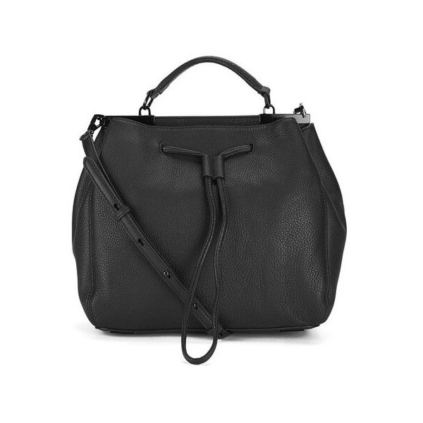 Get Rebecca Minkoff Women S India Drawstring Bag Black Now At Coggles The One Stop For Sartorially Minded Per Free Uk Eu Delivery When