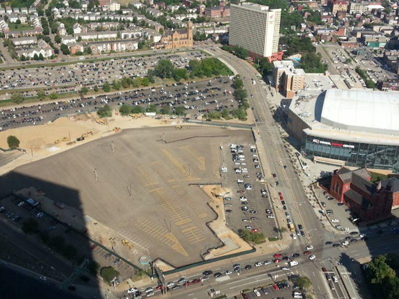 Mellon Arena Demolition Residential construction, Pre