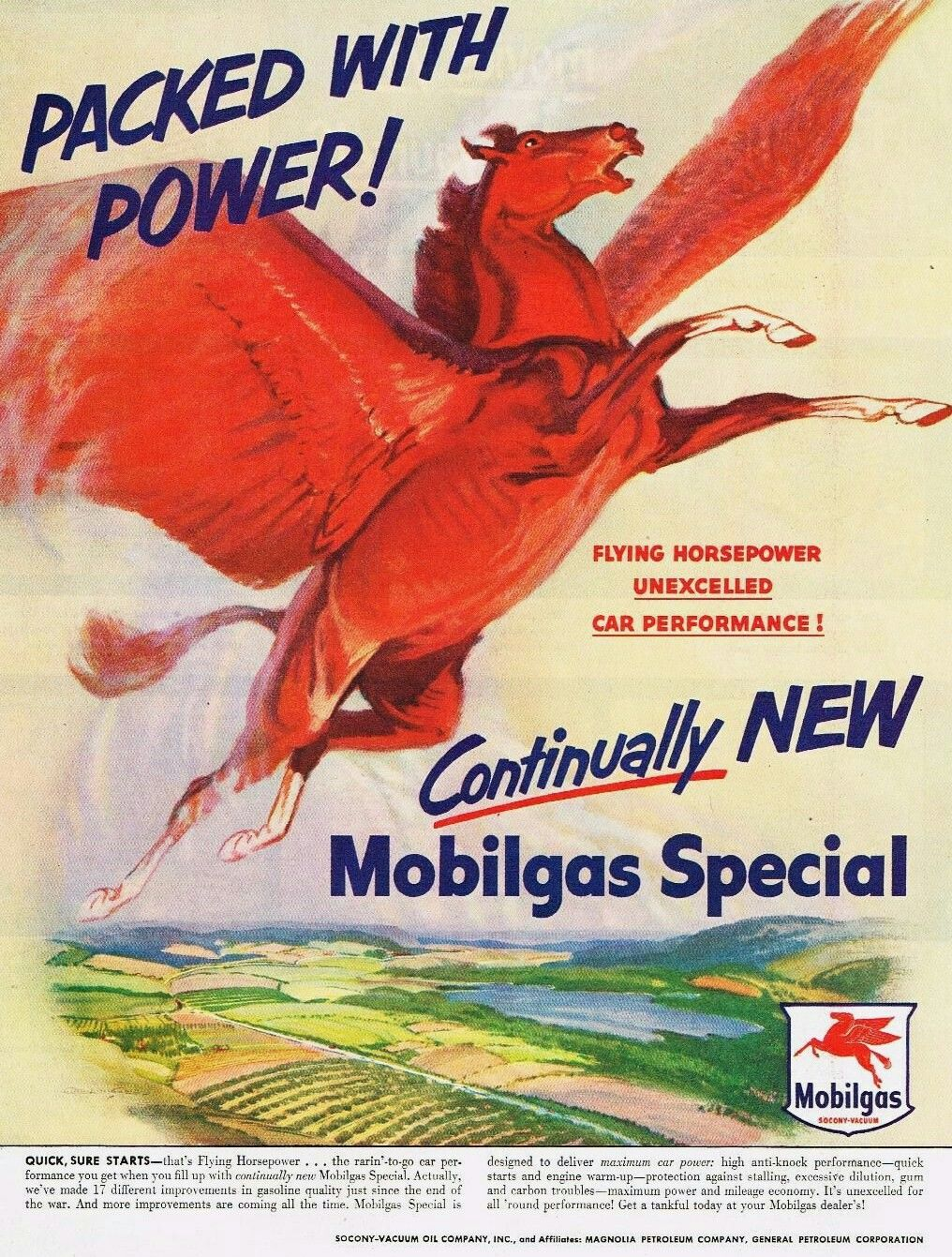 Vintage 1940 Magazine Ad Mobiloil Special Use For The Best Engine Protection 1940-49 Advertising